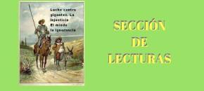 SECCIÓN DE LECTURAS